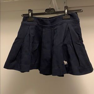 Navy Abercrombie Skirt Like Brand New!